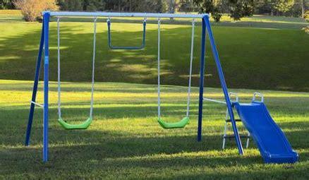 flexible flyer fun time metal swing set flexible flyer fun time fun metal swing set 69 shipped