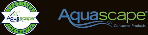 logo aquascape texas land design