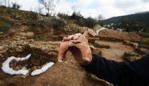 Ritual building near jerusalem dates back to old testament bible times