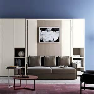 Sofa Murphy Beds Nobu Murphy Bed With Sofa Clever It