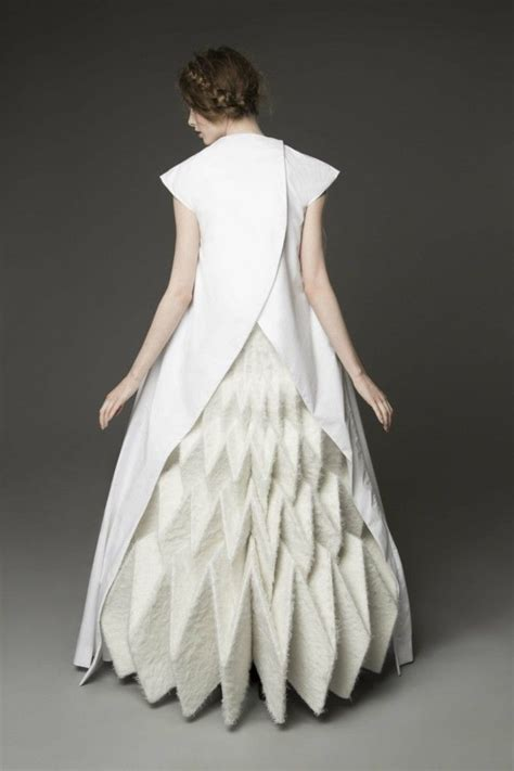Origami In Fashion - 17 best ideas about origami fashion on