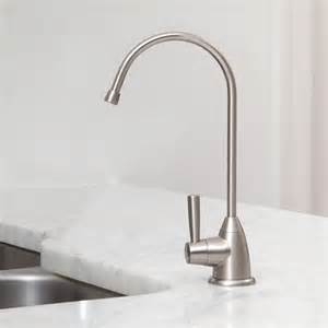 Water Saving Faucet Under Counter Water Filter With Brushed Nickel Faucet