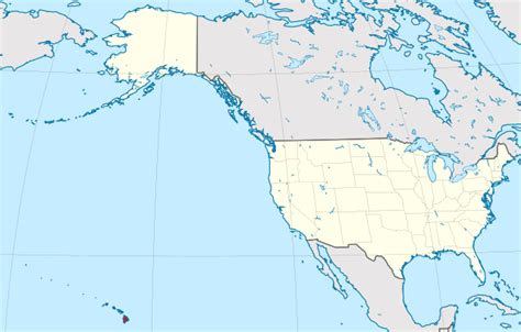 map of the united states with hawaii and alaska file hawaii in united states us50 grid w3 svg