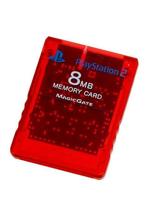 Memory Ps2 estarland buy ps2 memory card crimson by sony