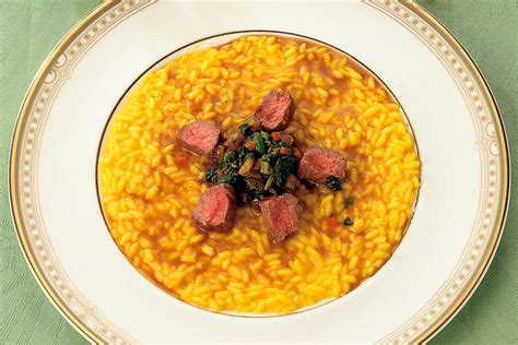 ricette per cucinare agnello ricetta risotto giallo con agnello la cucina italiana
