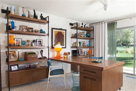 Decorating A Mid Century Modern Home 20 mid century modern home office designs decorating