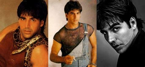 midlle path hair style akshay kumar 11 embarrassing pictures of akshay kumar that he doesnt