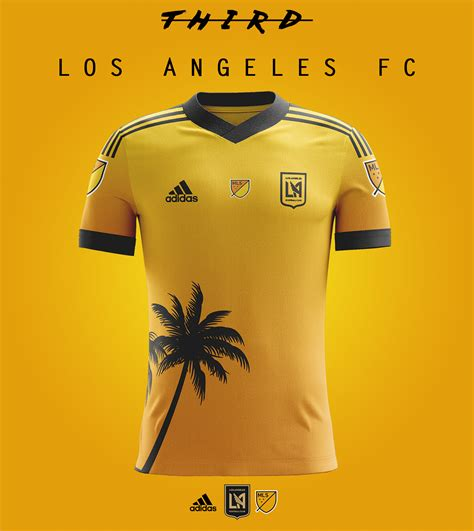 los angeles fc kits concept on behance football jersey
