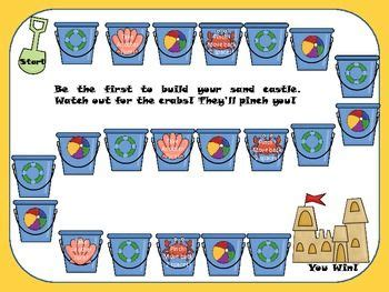 beach themed language arts activities board games fun games and game on pinterest