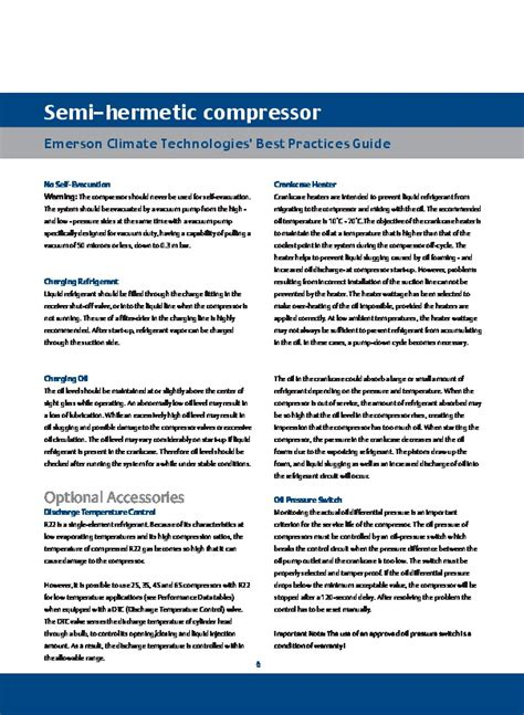 emerson copeland semi hermetic compressor catalogue