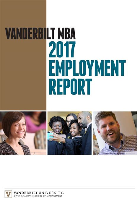 Employers Seeking Wsu Mba by Vanderbilt Mba Employment Report By Vanderbilt Owen