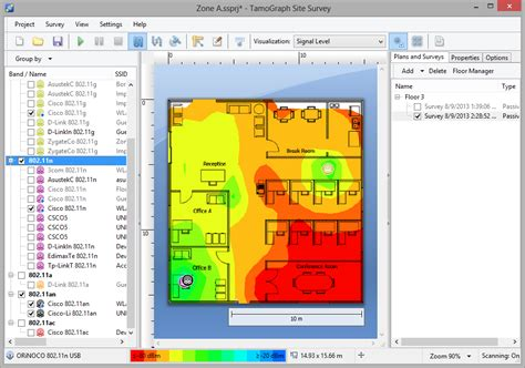 Survey Creation Sites - wireless site survey software for 802 11 a b g n ac wlans tamograph