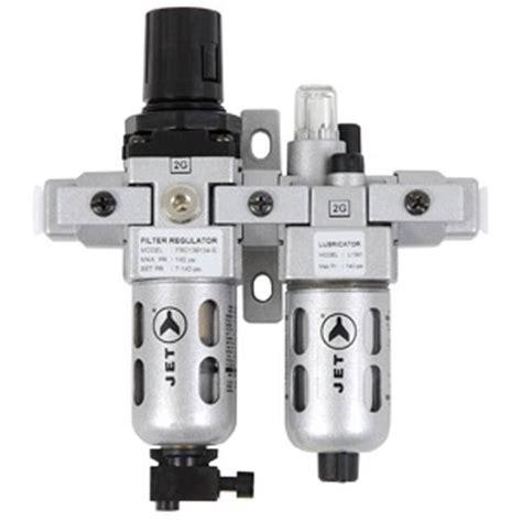 Filter Regulator Lubricator Drat 14 jet 408801 2 pc air filte regulator and lubricator 1 4 quot npt