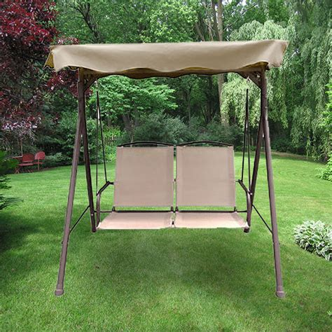 courtyard creations swing sienna swing replacement canopy garden winds