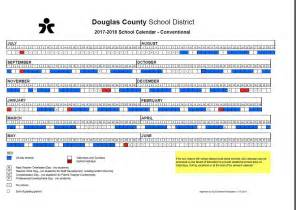 Slovenia Calendã 2018 New Calendar 2017 2018 Douglas County School District