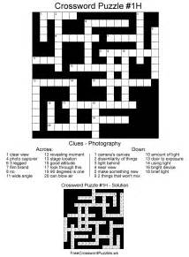 hard crossword puzzle photography
