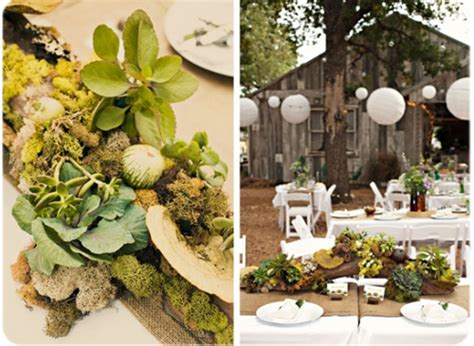 nature themed wedding decorations bubby and bean living creatively hitched a