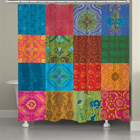 bohemian shower curtains fun bohemian shower curtains