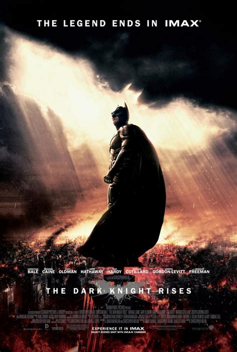 dark posters the dark knight rises poster for imax theaters collider