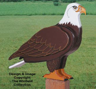 animal project patterns  life size eagle woodcraft