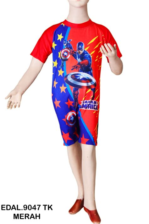 baju renang anak diving ariel tk busana renang anak diving karakter edal 9047 tk