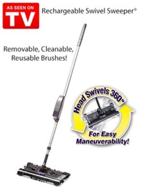Sapu Otomatis Sweeper 360 As Seen On Tv Mesin Penyedot Debu rechargeable swivel sweeper as seen on tv carolwrightgifts