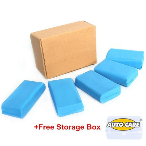 Pegs Magic 180 Pcs 1 5pcs 180g magic blue clay bar for auto detailing cleaner car washer in sponges cloths