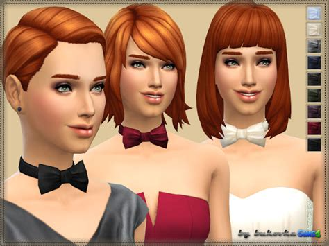 necklace bow tie at bukovka 187 sims 4 updates