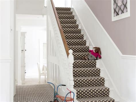 grey patterned stair carpet 11 beautiful staircase inspired by polka dot design