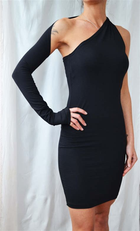 shoulder dress lbd sexy black dress  sleeve night