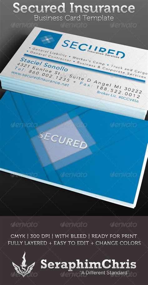 insurance business card templates avenir next font torrent 187 maydesk