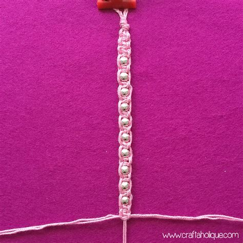Macrame Square Knot Tutorial - macram 233 beaded barefoot sandals tutorial craftaholique