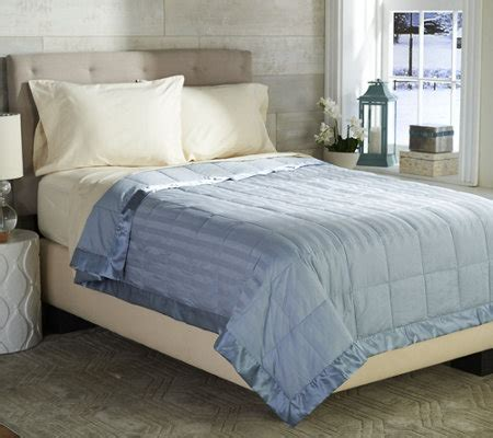 northern nights down comforter northern nights reversible 400tc cotton dobby king down