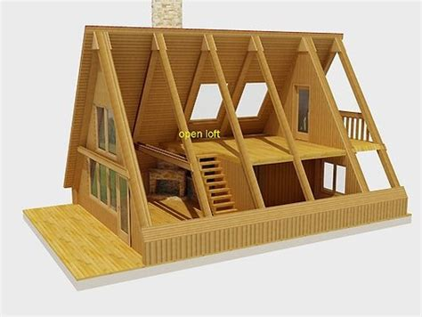 a frame style house framing an a frame cabin on a budget