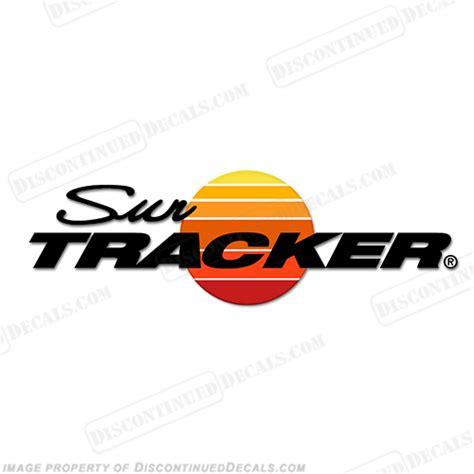 tracker boats decal sun tracker
