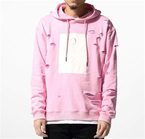 Hoodie Nerf This 4 Salsabila Cloth pink ripped hoodie marvelous clothing