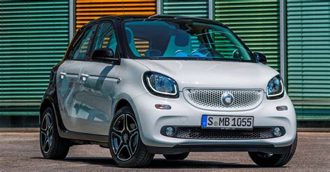 4 Door Smart Car by 2015 Smart Fortwo And Forfour New Dual Clutch Automatic