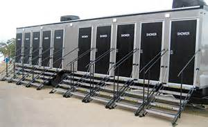 shower trailers portable toilet rental nationwide shower