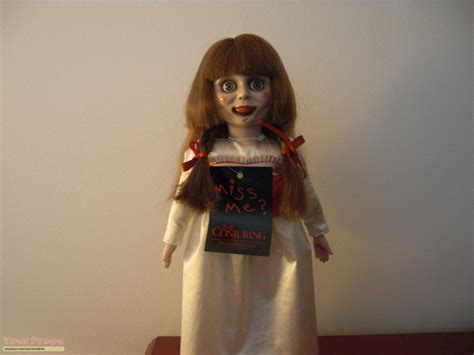 annabelle doll conjuring the conjuring the conjuring annabelle doll swag replica