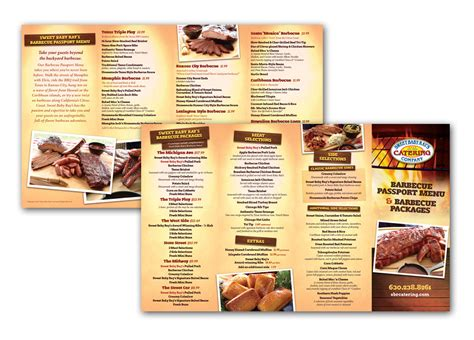 catering brochure templates catering company brochure www imgkid the image kid