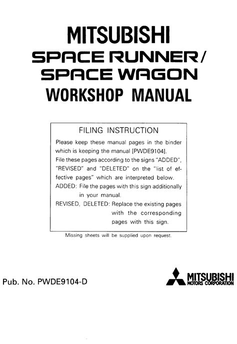 service manual pdf 1984 mitsubishi space workshop manuals 1984 mitsubishi cordia and tredia