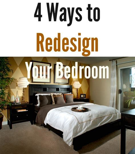 4 ways to redesign your bedroom naturale