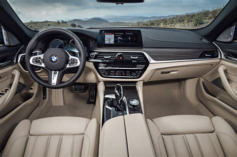 5 Series Bmw Interior by 2018 Bmw 5 Series Touring Debuts Automobile Magazine