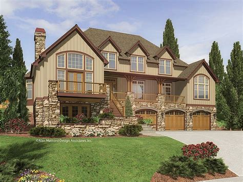 mountain craftsman house plans craftsman mountain home my style pinterest