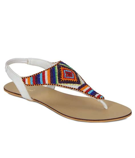 Flora White flora white flat sandals price in india buy flora white