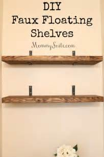 floating wood shelves bathroom 37 brilliantly creative diy shelving ideas page 7 of 8