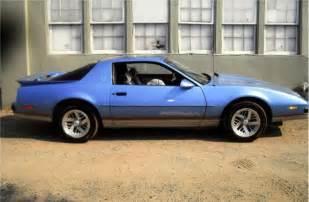 1989 Pontiac Firebird Formula 1989 Pontiac Firebird Formula 2 Door Hardtop Barrett