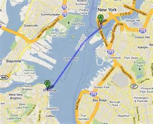 New York Ferry Map by About Maps Search And Google