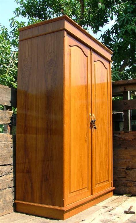 desain lemari dari triplek 43 model lemari pakaian kayu jati 2 pintu terbaru 2018