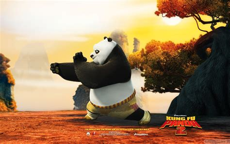 kung fu po in kung fu panda 2 wallpapers hd wallpapers id 9546